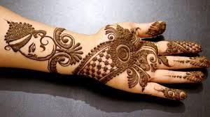 Ganpati Mehndi Design Lord Ganesha Mehndi Mehndi Tatoo On Hand Backside Easy Mehndi 2017