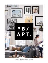 Apartment Design Online Delectable Online Catalog PB Apartment Winter 48 Pottery Barn