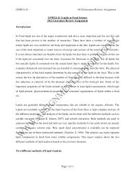 food engineering essay sample from assignmentsupport com essay writin  onps2143 2010 literature review assignment onps2143 lipids in food science 2012 literature review assignment introducti