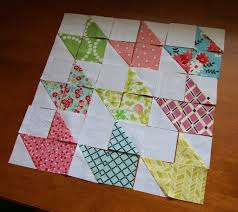 Chevron Doll Quilt Tutorial {Contributor} & Step 2: Lay out your quilt using the photo above to guide you in making the  chevron block. Each block has two of the half square triangle units, ... Adamdwight.com