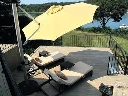 sunbrella patio umbrellas cantilever umbrella replacement canopy