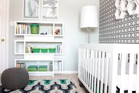 modern sports themed nursery
