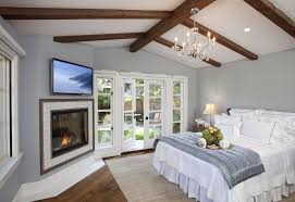 los angeles fireplace bedroom traditional with wood flooring san go heating and cooling companies