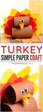 Simple Paper Turkey Craft