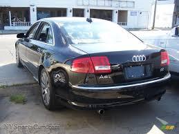 2004 Audi A8 L 4.2 quattro in Brilliant Black photo #2 - 004112 ...