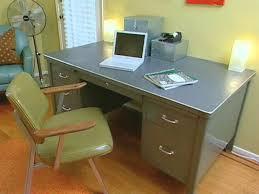 vintage office desks. retro office colors vintage desks i