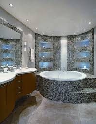 Bathroom  Apartment Decorating Ideas Themes Tv Above Fireplace - Luxury apartments bathrooms