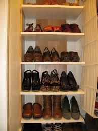 closet shoe rack diy