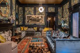 controlled chaos this richly rowdy family game room designed by marks and frantz exemplifies