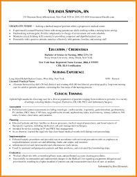 Sample Resume New Grad Nurse Practitioner Archives Circlewriter