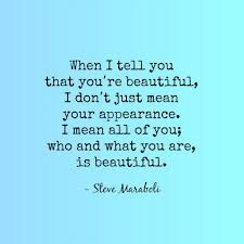 You Re Beautiful Quotes