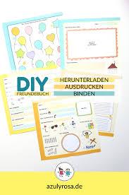 Freundebuch Und Erinnerungsalbum Zum Selber Ausdrucken Totalproton