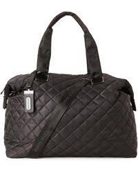 Lyst - Steve madden Quilted Black Weekender Bag in Black for Men & Steve Madden | Quilted Black Weekender Bag | Lyst Adamdwight.com