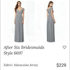 After Six Dress Style 6697 Monument Color