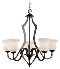 trans globe 3985 bk traditional 27 inch diameter 5 lamp black chandelier loading zoom