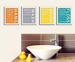Kids Bathroom Wall Decor Surprising Bathroom Print For Kids Nursery Wall Art Bathroom