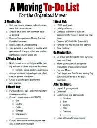 Move Checklist Template Move Checklist Template Metabots Co