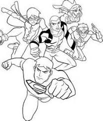 justice league coloring pages justice league and characters