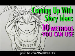Manga Ideas Coming Up With Story Ideas 10 Methods You Can Use Youtube