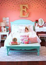 teenage bedroom wall designs. Tattered And Inked: Coral \u0026 Aqua Girl\u0027s Room Makeover. Walls - Girls  BedroomGirls Teenage Bedroom Wall Designs T