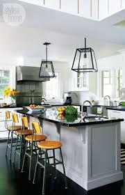 kitchen island breakfast bar pendant lighting. contemporary kitchen with high ceiling pendant light flush farmhouse sink island breakfast bar lighting g