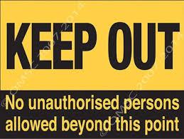 Keep Out Signs For Bedroom Doors Keep Out Metal Sign Warning Kid Bedroom  Door Hazard Ebay Property