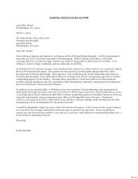 Medical Surgical Nurse Cover Letter Sample Best Ideas Of Example