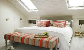 Pitched roof lighting ideas Bedroom Savvy Design Ideas That Help Make The Most Of Slanted Ceilings Deavitanet How To Decorate Rooms With Slanted Ceiling Design Ideas