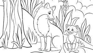Coloring Pages Forest Animals Free Printable Baby Farm Animal Coloring Pages Forest Animals Anima