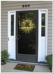 front doors with storm door. Black Storm Door With Front Door? Yes, But Sidelights Too, Doors