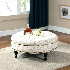 round ottomans for fashionable round ottomans for round upholstered ottoman coffee table s upholstered