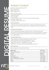 Australian Resume Template Free Best Cv Template Australia Resume