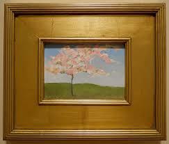 come spring original oil painting