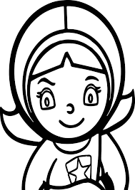Nice Word Girl Pbs Kids Coloring Page Wecoloringpage Pinterest