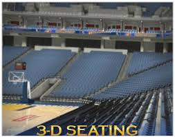 Capital One Arena 3d Seating Chart 36 Extraordinary Oracle Arena 3d Seat View