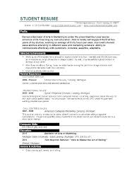 College Student Modern Resume Resume Format 2018 Current College Student 2 Sample Modern Styles