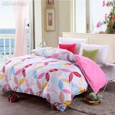 colorful fl rose pattern duvet cover with zipper 100 cotton quilt cover for children