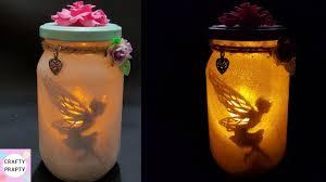 Fairy In A Jar Night Light Fairy Lantern Tutorial Diy Fairy Glow Jars No Tissue Paper