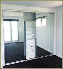 Frameless Mirror Sliding Closet Doors Home Design Ideas