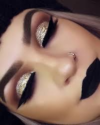 prom makeup hot look