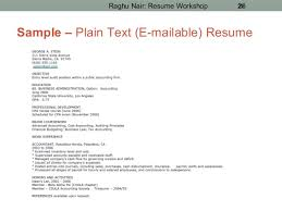 Text Resume Format. Plain Text Resume Format Get Free Resume .