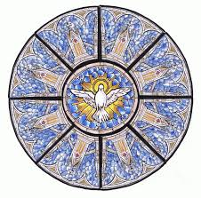 Stainglass window designs Church Rose Window Design Designing New Stained Glass Workfuly Fabrication Of New Stained Glass Windows From Henningers Church