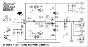 audio stereo circuit page 4 audio circuits next gr stereo headphone circuit diagram · Â