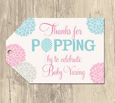 Pastel Clothesline Personalized Square Tags Or Labels  Baby Baby Shower Tags And Labels