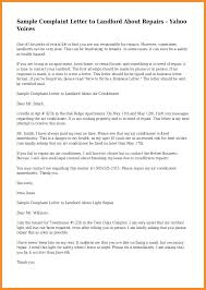 Letter To Landlord Moving Out Sample Complaint Asking Tenant
