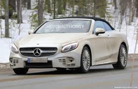2018 mercedes benz s class coupe.  coupe 2018 mercedesbenz sclass cabriolet spy shots  image via s baldauf intended mercedes benz s class coupe
