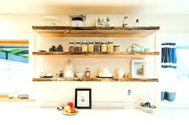 floating shelves for kitchen dishes wall on displaying plates dish