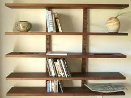 wooden wall bookshelf ikea shelving units design ideas