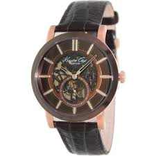 kenneth cole men s watches shop the best deals for 2017 kenneth cole men s classic automatic skeleton dial watch