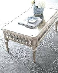 mirrored glass coffee table lovely glass top mirrored coffee table stainless ideas as round mirrored glass